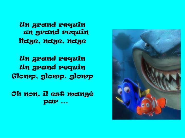 Un grand requin