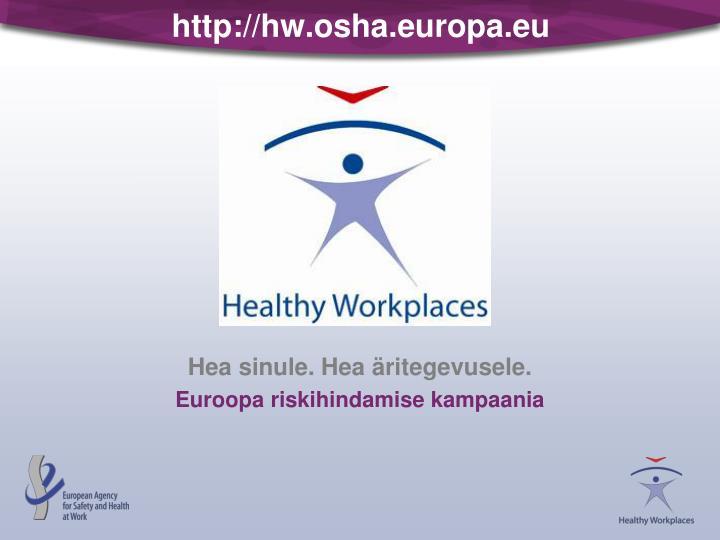 http://hw.osha.europa.eu