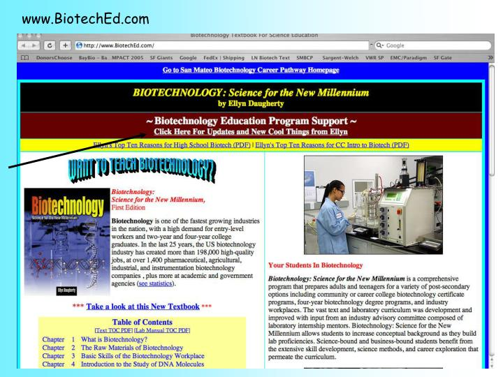 www.BiotechEd.com