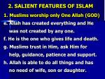 2 salient features of islam2