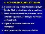 4 acts prescribed by islam2