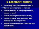 5 forbidden things1