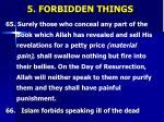 5 forbidden things17