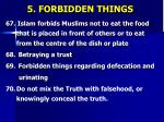 5 forbidden things18