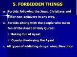 5 forbidden things2
