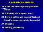 5 forbidden things8