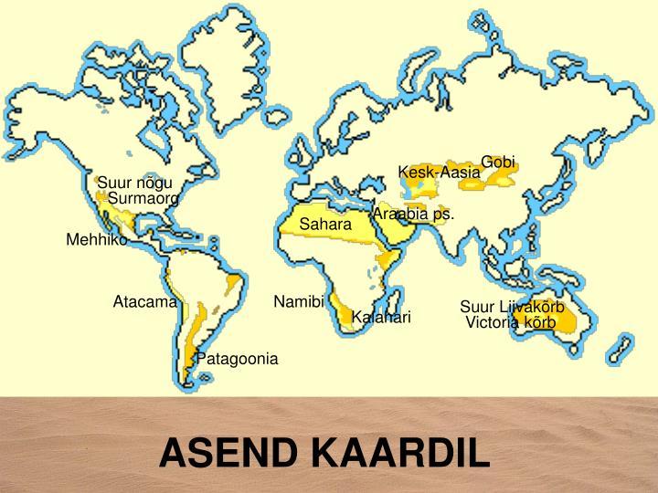 ASEND KAARDIL