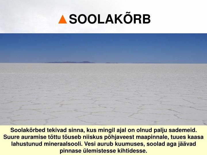 SOOLAKÕRB