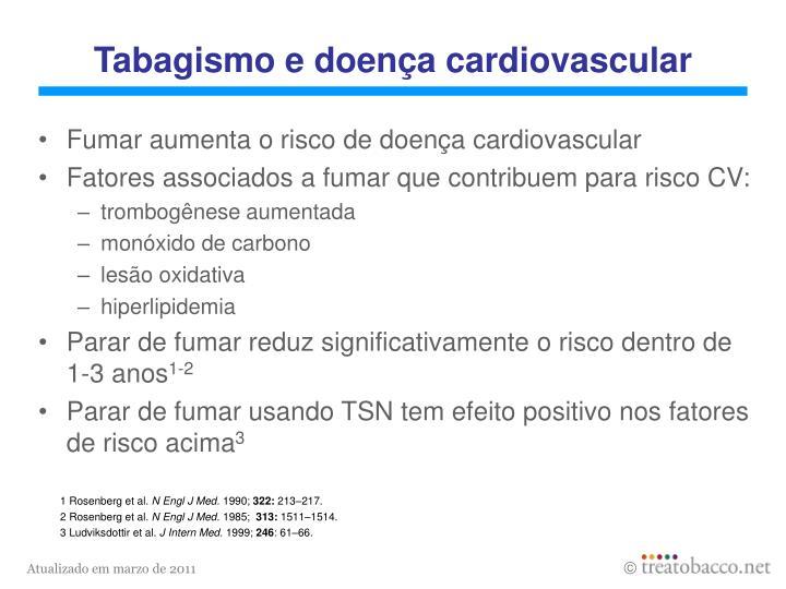Tabagismo e doença cardiovascular