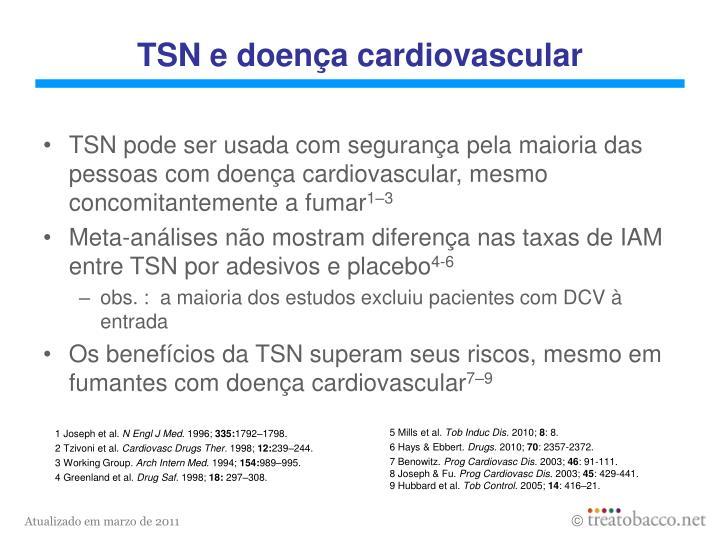 TSN e doença cardiovascular
