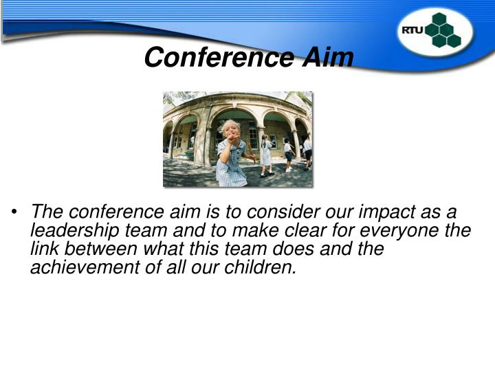 Conference Aim