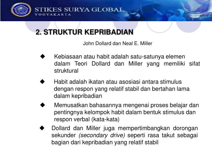 2. STRUKTUR KEPRIBADIAN