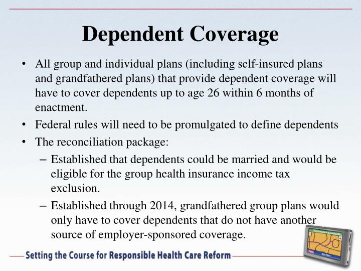 Dependent Coverage