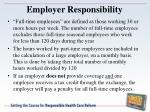 employer responsibility1