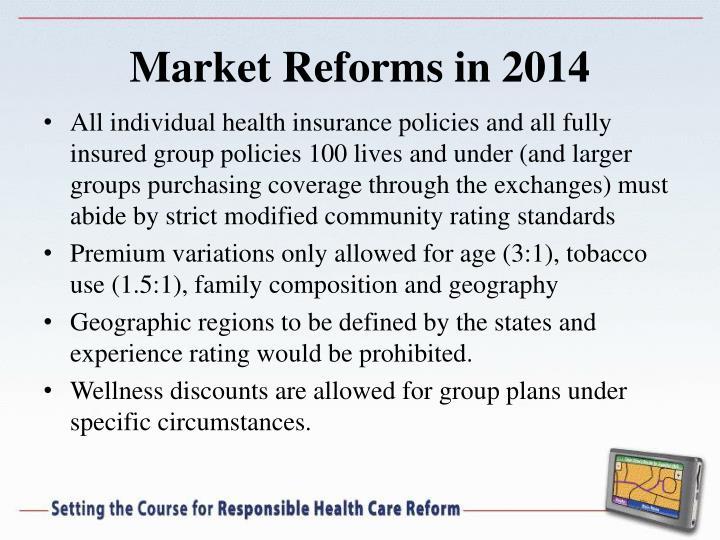 Market Reforms in 2014