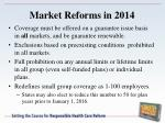 market reforms in 20141