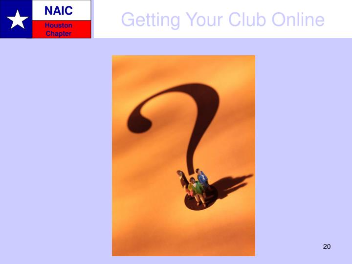 Getting Your Club Online
