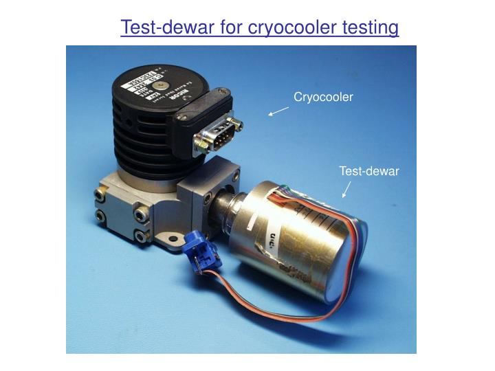 Test-dewar for cryocooler testing