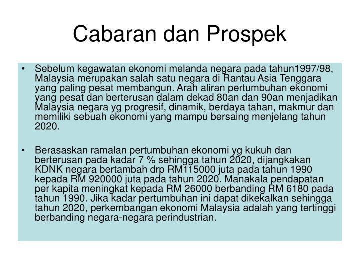 Cabaran dan Prospek