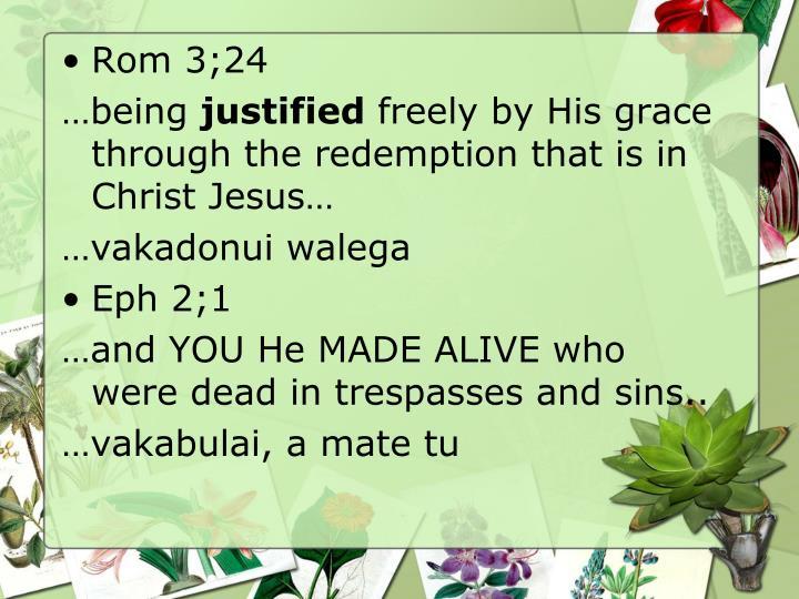 Rom 3;24