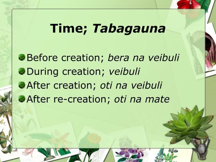 Time;
