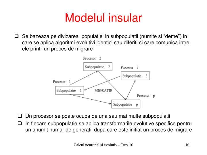 Modelul insular