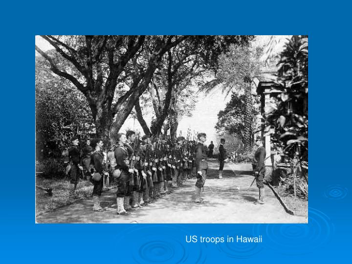 US troops in Hawaii