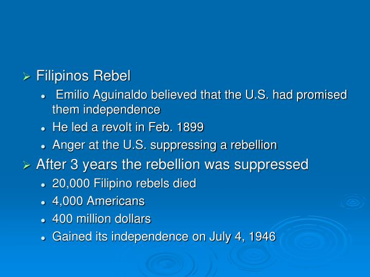 Filipinos Rebel