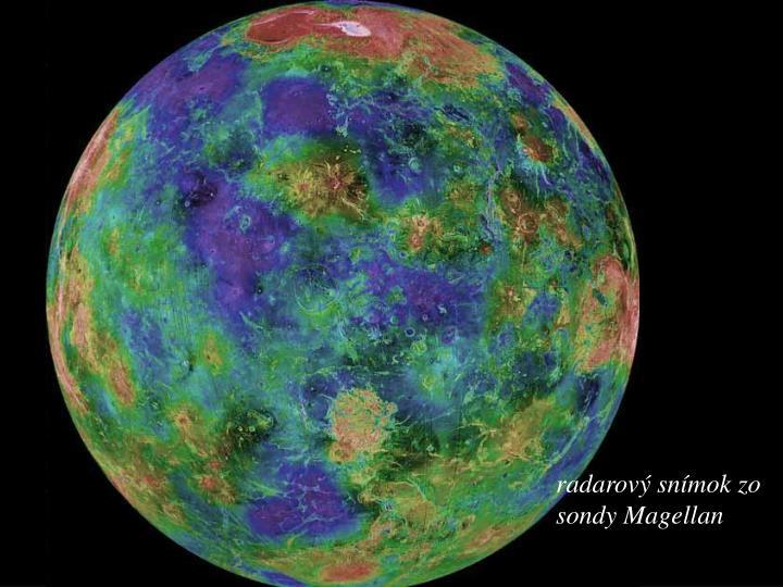 radarový snímok
