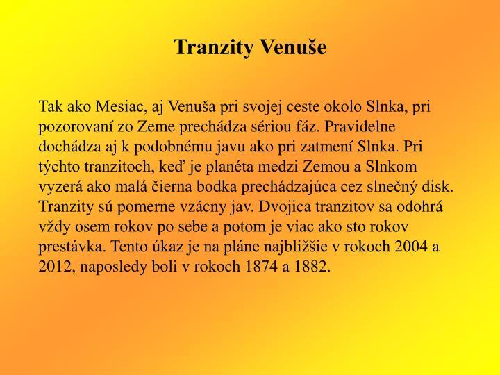 Tranzity Venuše