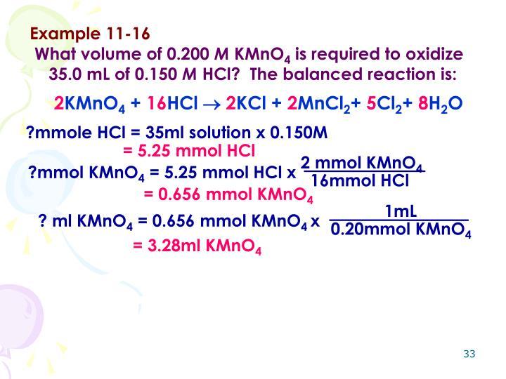 Example 11-16