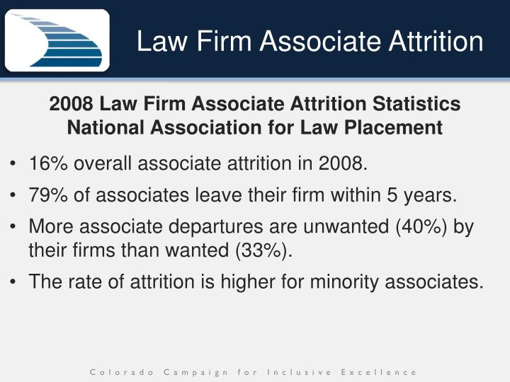 Law Firm Associate Attrition