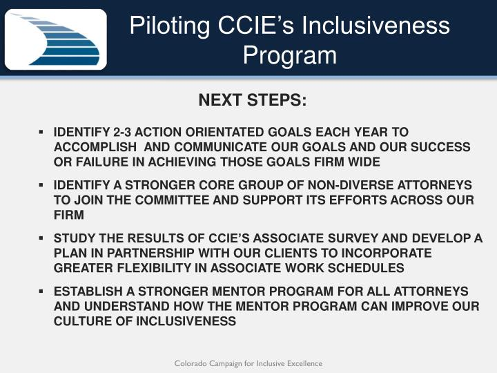 Piloting CCIE's Inclusiveness Program