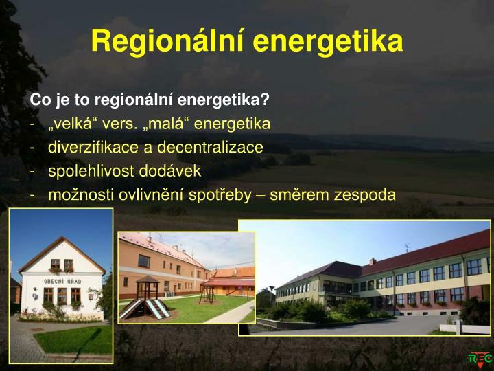 Regionální energetika