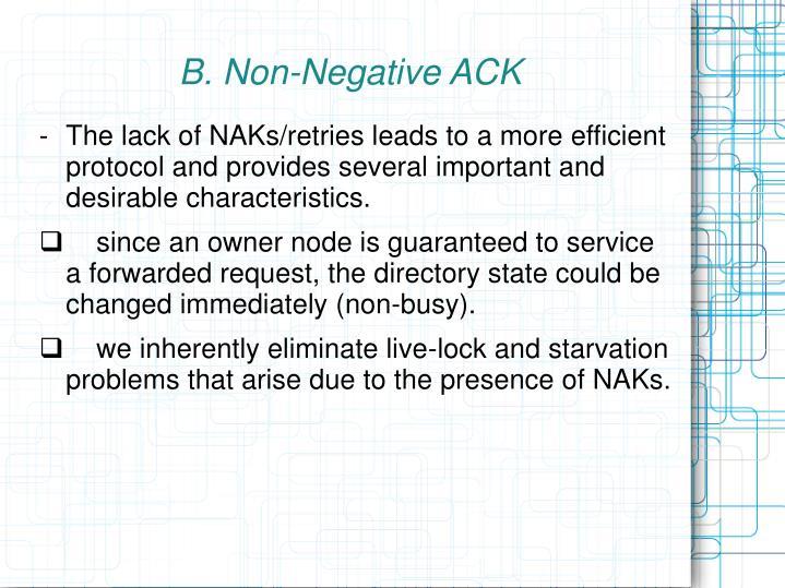 B. Non-Negative ACK