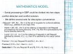 mathematics model