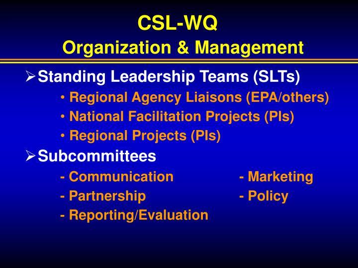 CSL-WQ