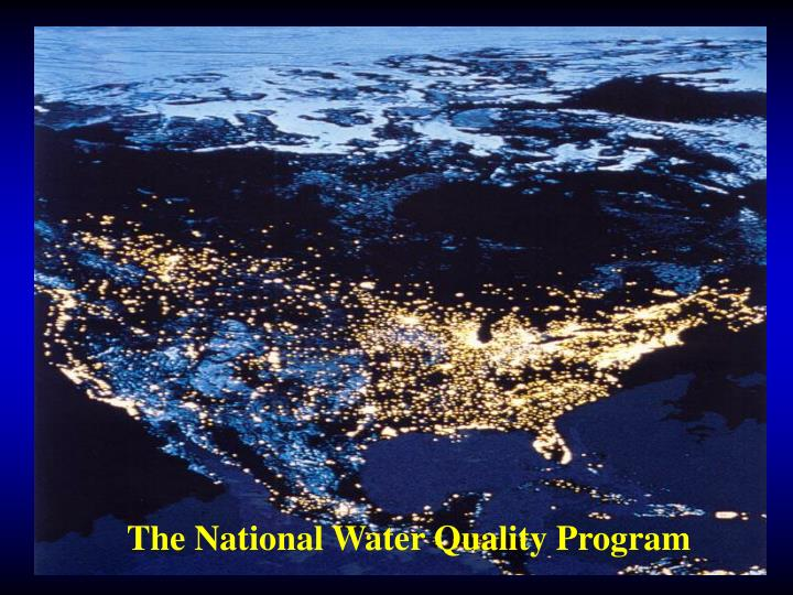 The National Water Quality Program