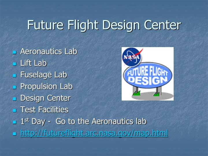 Future Flight Design Center