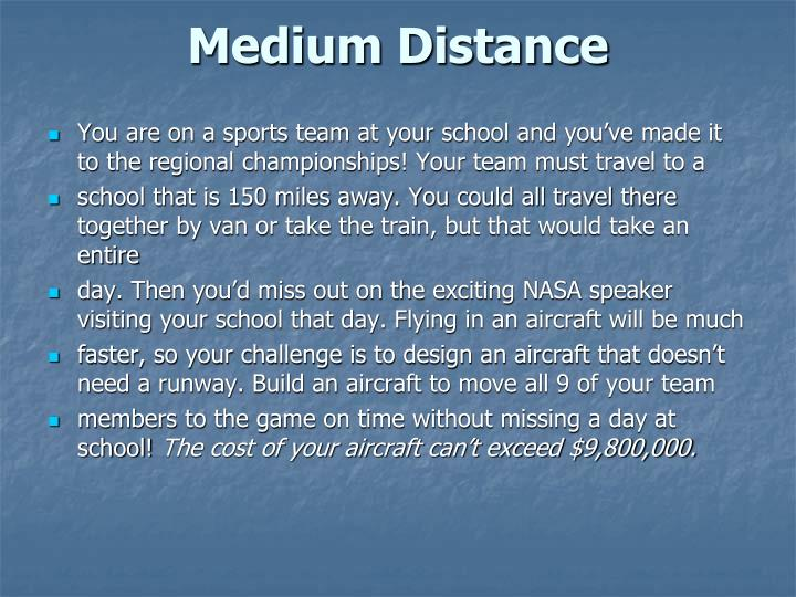 Medium Distance