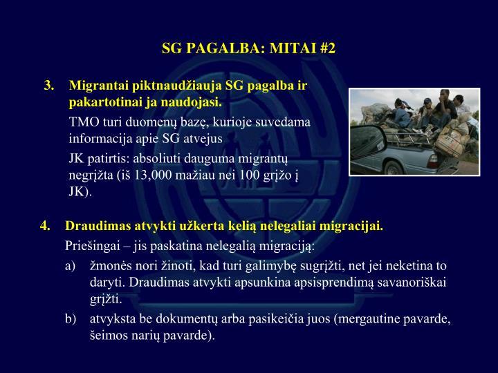 SG PAGALBA: MITAI