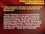 10 stages to sponsoring a growing healthy multiplying church2