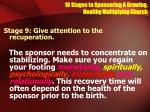 10 stages to sponsoring a growing healthy multiplying church25