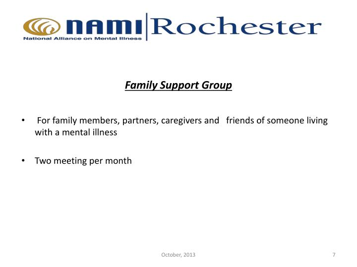 Family Support Group
