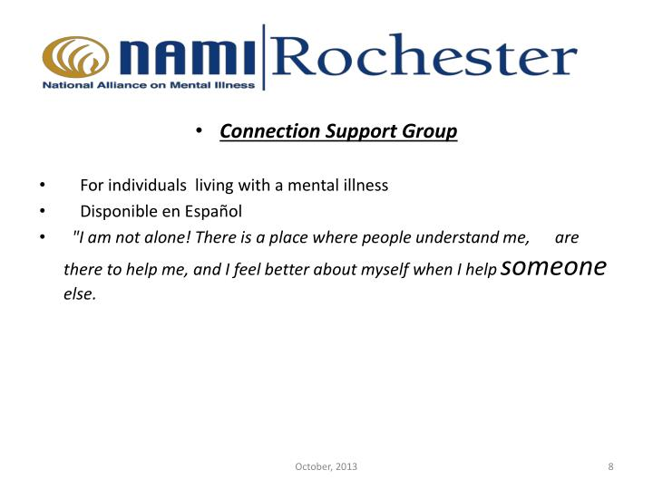 Connection Support Group