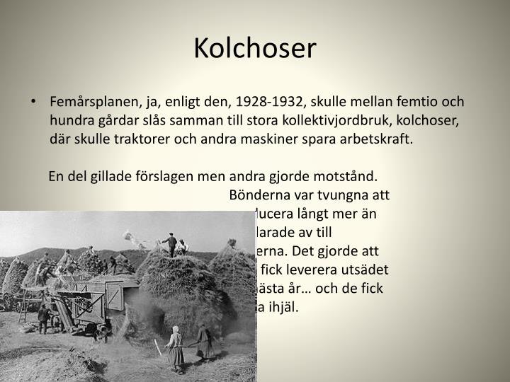 Kolchoser