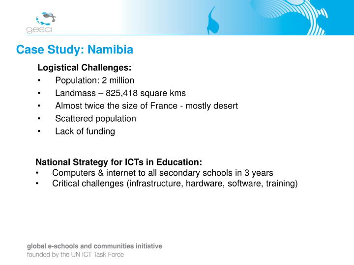 Case Study: Namibia