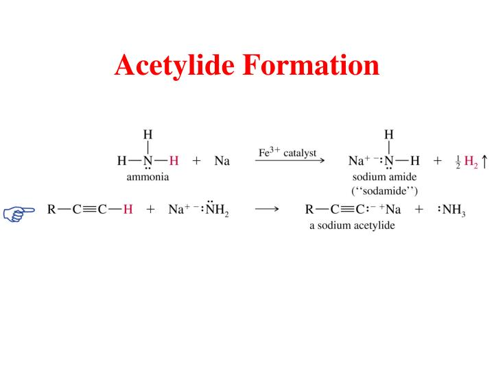 Acetylide Formation