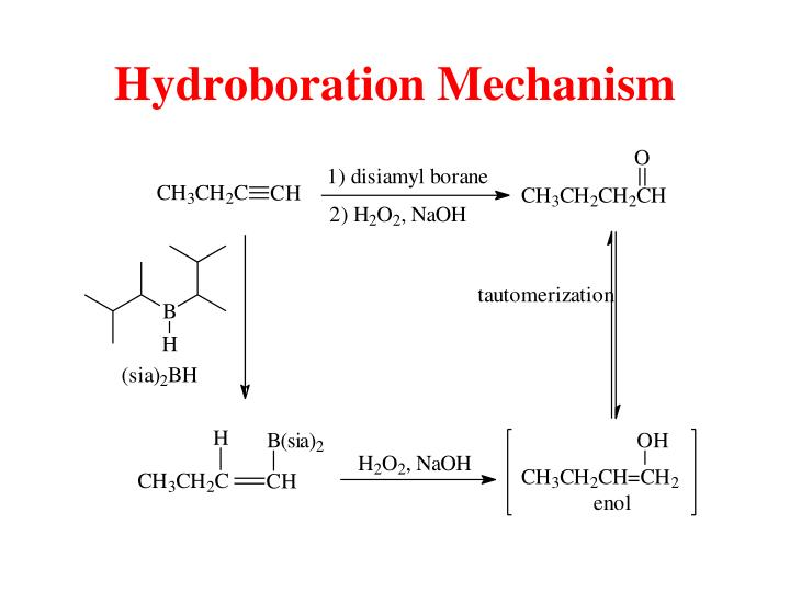 Hydroboration Mechanism