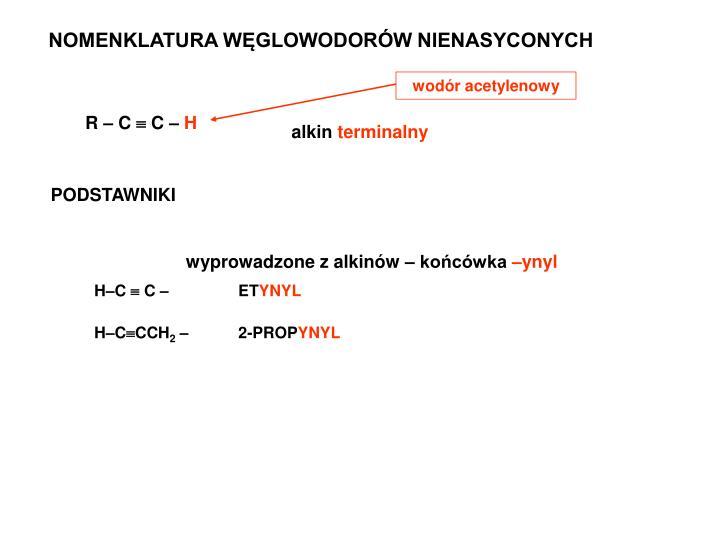 wodór acetylenowy